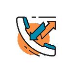 Follow Through Communications Icon